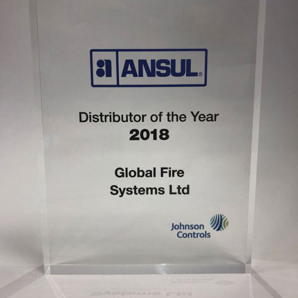 ANSUL Distributer of the Year