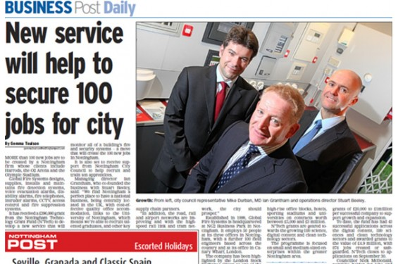 New Service will help secure 100 jobs