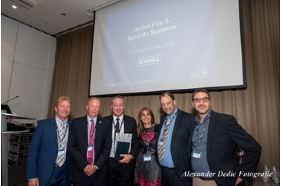 Global receive Tyco Ansul Distributor of the year