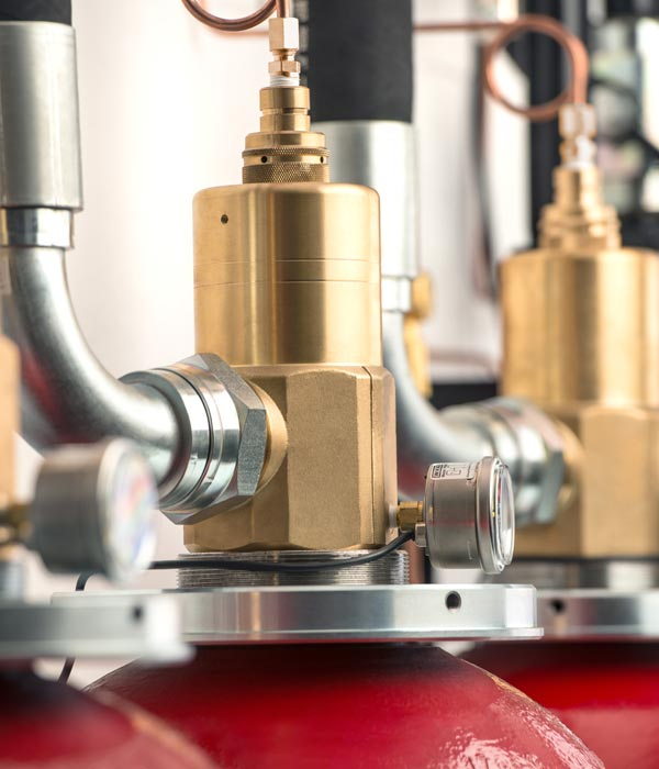 Gaseous Fire Suppression Systems