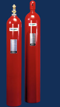 Inert Gas Suppression Systems Fire Security